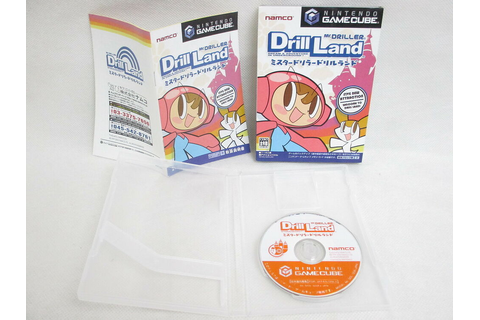 Mr. DRILLER DRILL LAND GOOD Condition Nintendo Game Cube ...