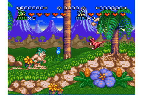 Joe & Mac 2: Lost in the Tropics - SNES - Alvanista