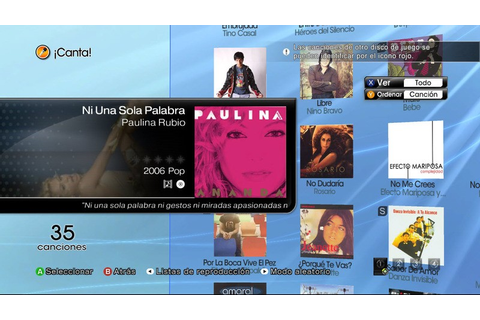 Xbox 360-Lips: Spanish Songs! nuevo! | eBay