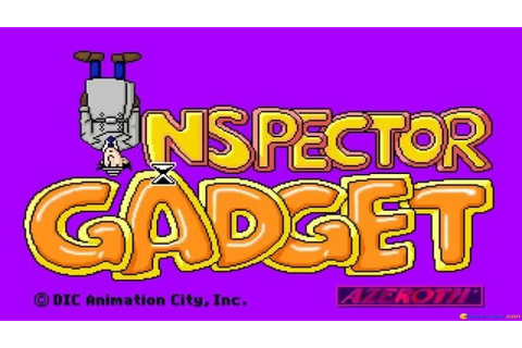 Inspector Gadget gameplay (PC Game, 1992) - YouTube
