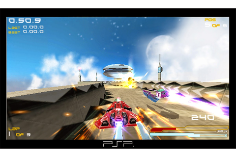 WIPEOUT PURE ISO [PPSSPP+PSP] ROM « Smart Phone World