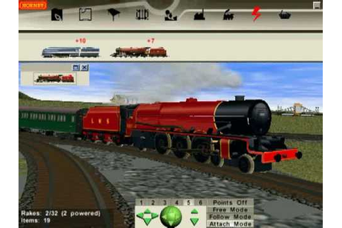 HVR2 - Hornby Virtual Railway 2 - YouTube