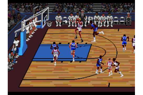 Lakers vs Celtics Sega Genesis - YouTube