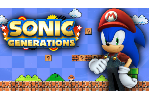 Sonic Generations World 1-1 - Walkthrough - YouTube