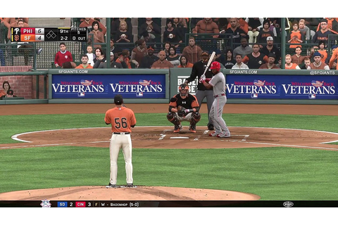 Phillies Baseball 2016 - MLB The Show 16: @ San Francisco ...