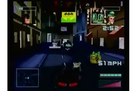 Batman: Gotham City Racer PS1 Game - Last Level - YouTube
