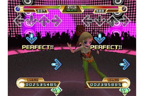 File:Dance Dance Revolution Hottest Party 2 gameplay 2.png ...