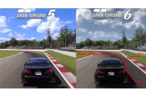 Gran Turismo 6 Graphics Downgraded From Gran Turismo 5 ...