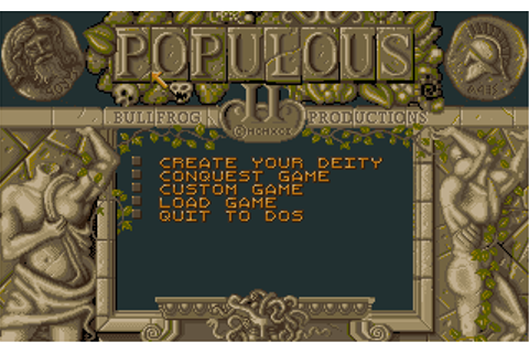 Populous II: Trials of the Olympian Gods - My Abandonware