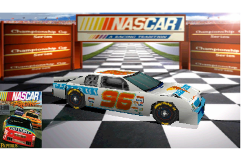 Playing The First EVER NASCAR Video Game (NASCAR Racing ...