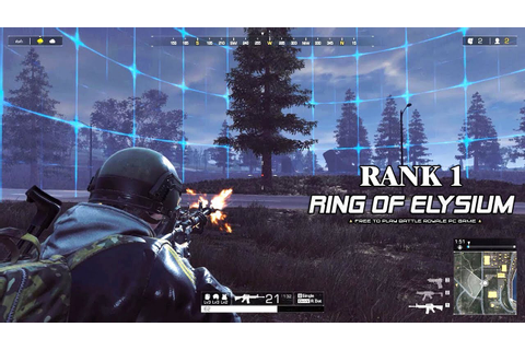 Ring of Elysium (Europa) - 1st CBT First Top 1 Solo ...