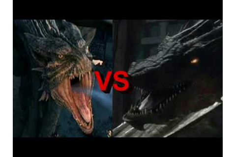 "The male ""Reign of Fire"" dragon v Smaug : who would win ..."