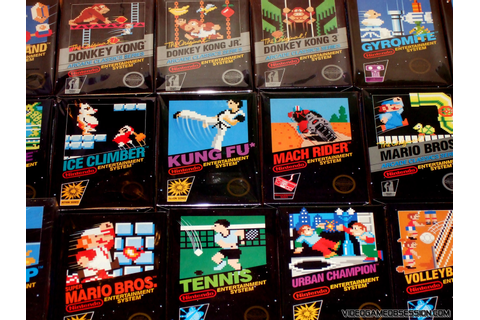 Nintendo 8-bit NES Collection @ Video Game Obsession (c ...