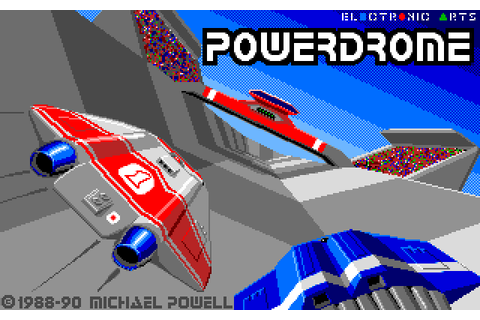Powerdrome (1990) by Electronic Arts MS-DOS game