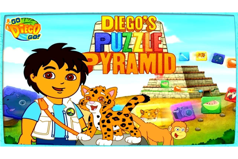Go Diego Go: Diego's Puzzle Pyramid Gameplay | Kids Games ...