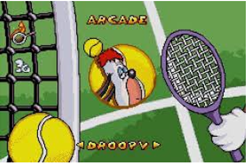 Droopy's Tennis Open | Gbafun is a website let you play ...