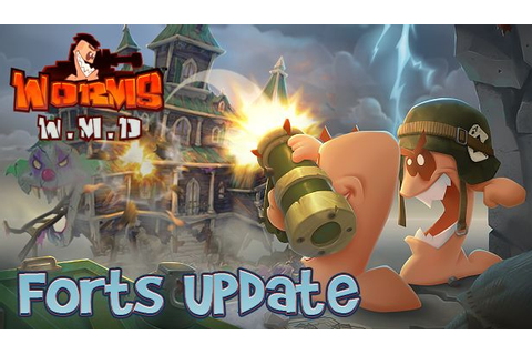 Worms W.M.D updated with a free game mode 'Forts ...