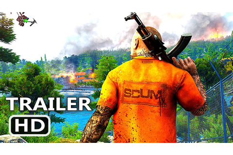 PS4 - Scum Trailer (2018) Multiplayer Open World Survival ...