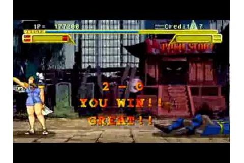 Asuka's Ending - Burning Rival (Arcade) - YouTube