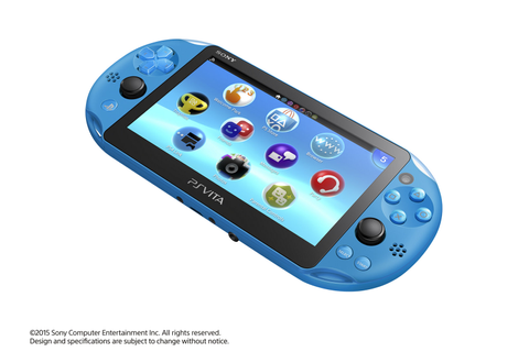 An Aqua Blue PS Vita will be available in the US this ...