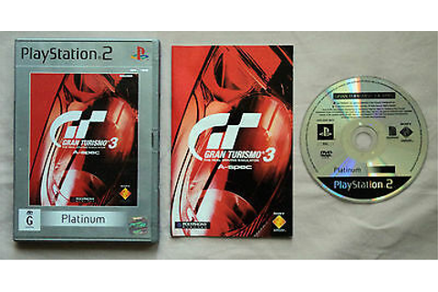 Gran Turismo 3 A-spec Playstation 2 Game PAL | eBay