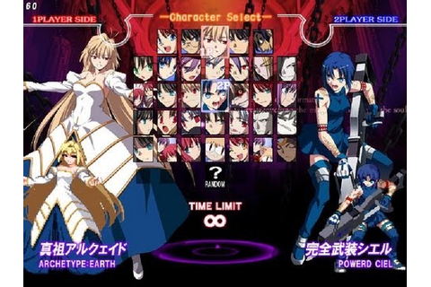 Melty Blood Actress Again Current Code: Arc Drive & Last ...