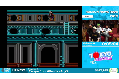 Hudson Hawk by WhiteHat94 in 8:19 - Awesome Games Done ...