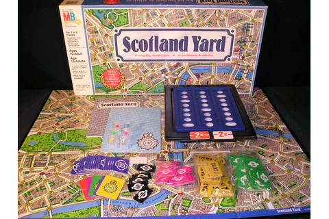 What's In That Game Box? – Scotland Yard (1985) | Recycled ...