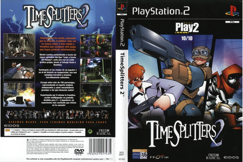 GAME PS2: TIME SPLITTERS 2