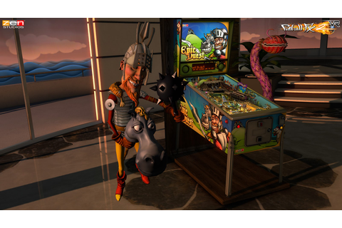 Pinball FX2 VR - PC / VR Review | Chalgyr's Game Room