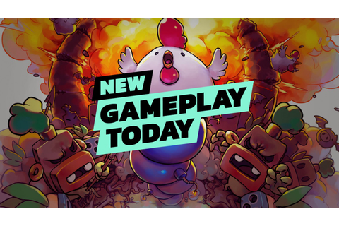 New Gameplay Today – Bomb Chicken - Game Informer