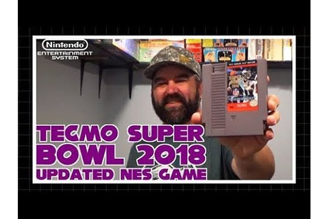 Tecmo Super Bowl 2018 Updated NES Game - YouTube