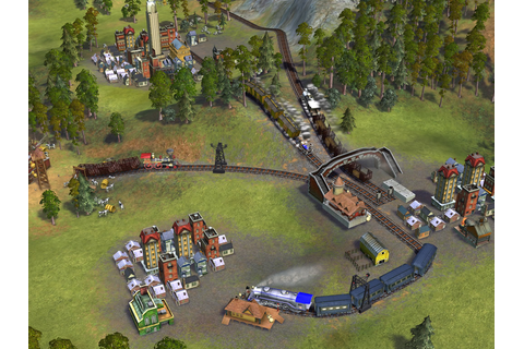 gameSlave, Sid Meier's Railroads! image. railroads__screen ...