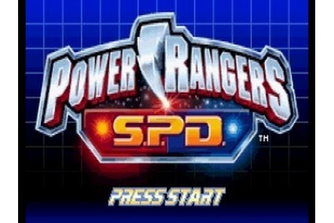 Power Rangers S.P.D Walkthrough Complete Game (GBA) - YouTube