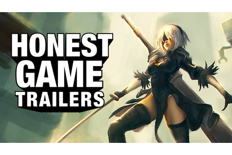 NIER: AUTOMATA (Honest Game Trailers) - YouTube