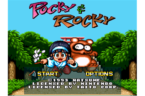 Pocky & Rocky Screenshots | GameFabrique