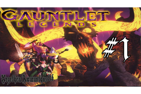 Gauntlet Legends - PS1 Playthrough - Area 1, Mountain ...