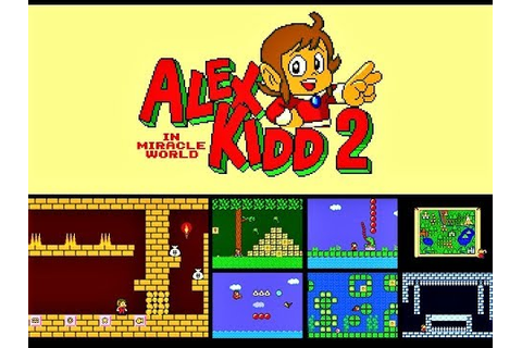 (EPISODE 1,551) LET'S PLAY: ALEX KIDD IN MIRACLE WORLD 2 ...