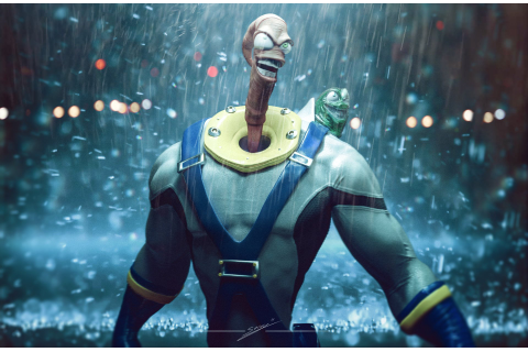 Earthworm Jim Update Is the Gritty Reboot We Really Want ...
