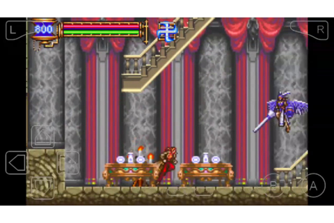 CASTLEVANIA: ARIA OF SORROW JULIUS! HARD MODE! LONG GAME ...