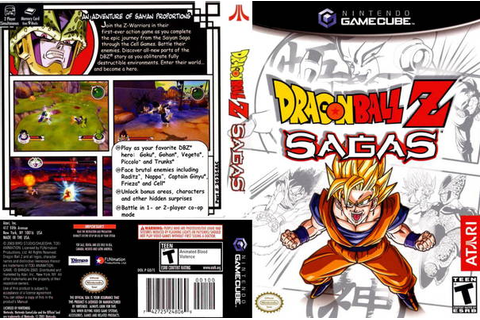 Dragon Ball Z Sagas ISO