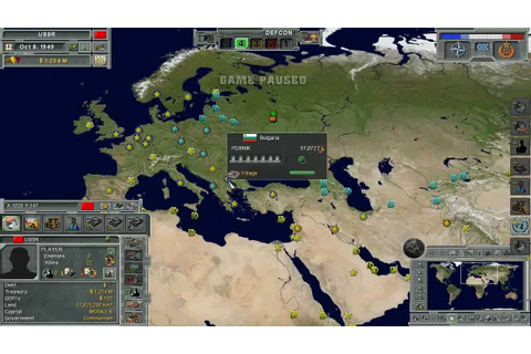 Supreme Ruler: Cold War VideoTutorial: Beginning the game ...