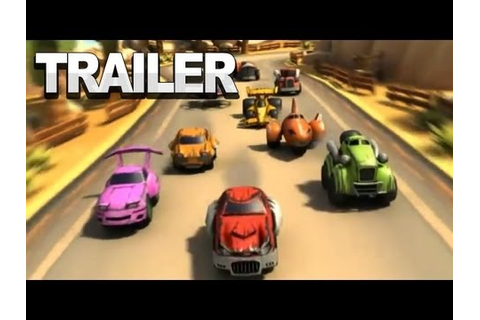 TNT Racers - Gameplay Trailer - YouTube