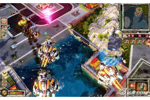 Command & Conquer: Red Alert 3 -- Uprising Review - IGN