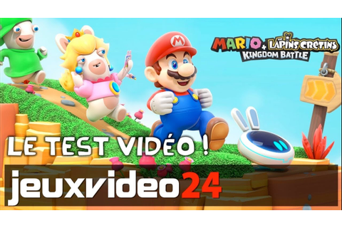 Mario + The Lapins Crétins Kingdom Battle - Le test vidéo ...