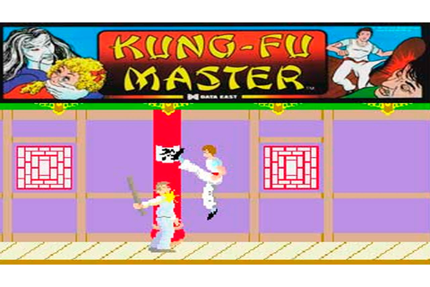 Kung-Fu Master gameplay Recreativa Retro - YouTube