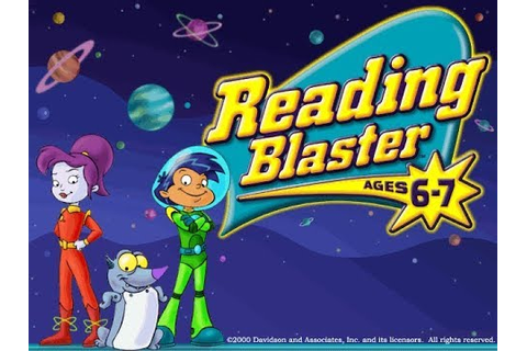 Reading Blaster Ages 5-7 - Gameplay - YouTube