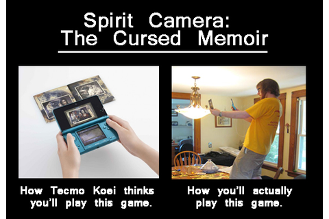 Spirit Camera: The Cursed Memoir (3DS) – GameCola