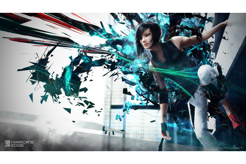 Mirrors Edge Games Girls sci-fi girl wallpaper | 1920x1080 ...