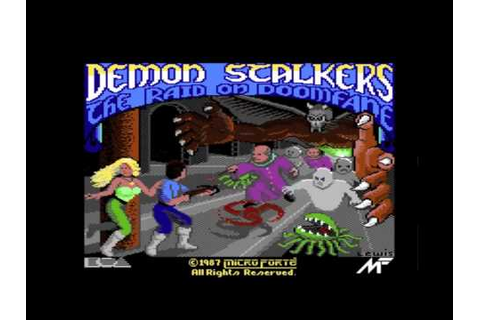 C64 Demon Stalkers Intro - YouTube
